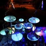 Drum on stage — Stock Photo #72836629