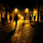 City street at night — Stock Photo #72836713