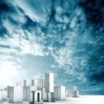 City blueprint concept — Stock Photo #72837233