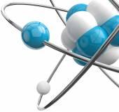 Atom.Science object — Stock Photo