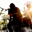 Live music background — Stock Photo #73365645