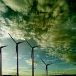 Windmills. Windfarm — Stock Photo #73365723