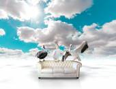 Sofa dreamscape — Stock Photo