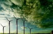 Windmills. Windfarm — Stock Photo
