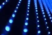 Leds bulbs background — Stock Photo
