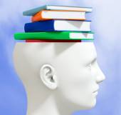 Concept of knowledge — Stock Photo