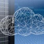 Concept of cloud computing — Stock Photo #68149411
