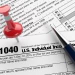 Usa taxes — Stock Photo #68817273