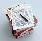Italian taxes — Fotografia Stock
