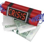 Concept of economic crisis — Stock Photo #71497421