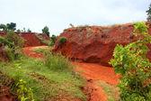 Il canyon rosso a Binh Thuan, Vietnam. — Foto Stock