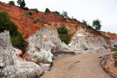 Canyon di flusso di fata. vietnam di mui ne — Foto Stock