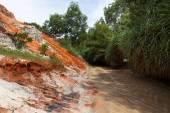 Cañón de corriente de hadas. vietnam Mui Ne — Foto de Stock