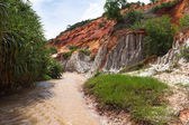 Fairy Stream Canyon. Mui Ne. Vietnam — Stock Photo
