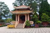 Pagoda in Monastery. Dalat. Vietnam. — Стоковое фото