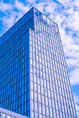 Offices with sky reflection — Stock Photo