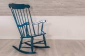 Rocking chair in a living room — Stock Photo
