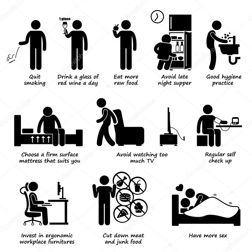 Stick figure illustrations sur le sexe