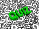 Quiz — Stock Photo