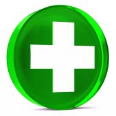 здравоохранения зеленый — Стоковое фото