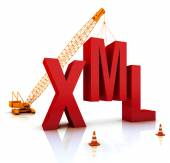 XML Coding — Stock Photo