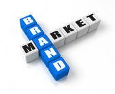 Brand Market — Stock Photo