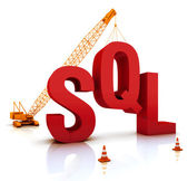 SQL Coding — Stock Photo