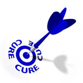 Cure Target — Stock Photo