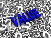 Value — Stock Photo