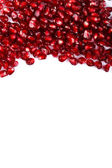 Grenadine seeds on the upper side — Stock Photo