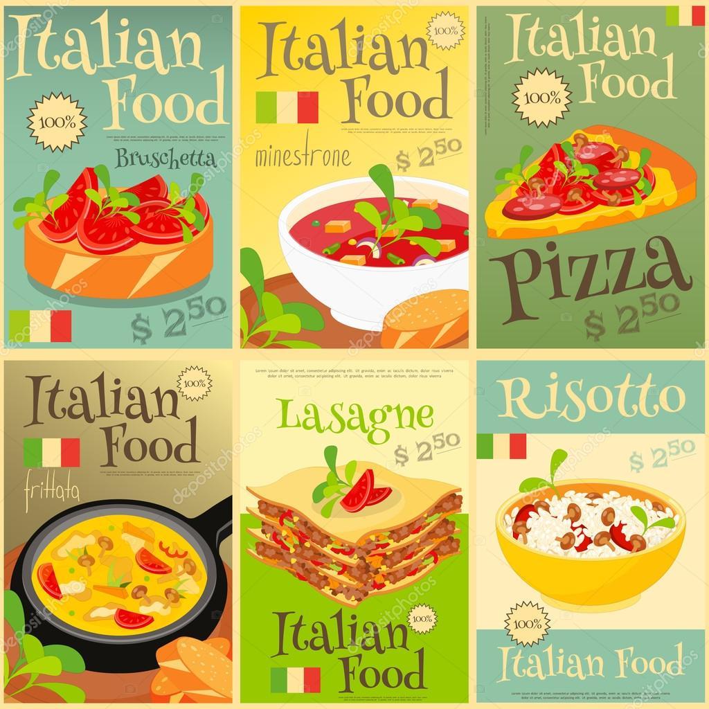 Italian Food Menu Pics