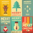 Christmas Posters Set — Stock Vector #56068541