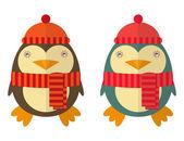 Cartoon Cute Penguin — Stock Vector