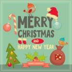 Christmas Card — Stock Vector #58524815