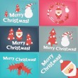 Merry Christmas Greeting Card — Stock Vector #58862959