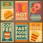 Fast Food Menu — Stock Vector #71065231