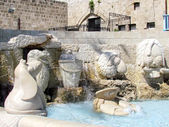Jaffa sculptures of zodiac signs 2012 — Stock Photo