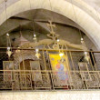 Jerusalem Holy Sepulcher part of the interior 2012 — Stock Photo #52083715