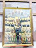 Jerusalem Holy Sepulcher Catholicon the Preview saints 2012  — Stock Photo