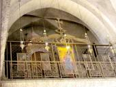 Jerusalem Holy Sepulcher part of the interior 2012  — Foto de Stock