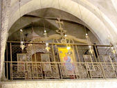 Jerusalem Holy Sepulcher part of the interior 2012  — Stock Photo