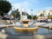 Petah Tikva fountain on a square 2010 — Stock Photo