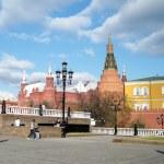 Moscow Corner Arsenal Tower of Kremlin 2011 — Stock Photo #53258503