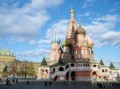 Moscou la 2011 de la cathédrale saint basile — Photo