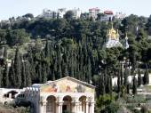 Jerusalem Churches on mount of olives 2008 — Stock Photo