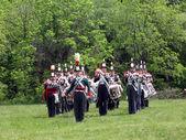 Stoney Creek Battlefield band and drum 2009 — Stock Photo