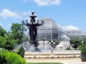 Washington Bartholdi Fountain and Botanic Gardens 2013 — Stock Photo