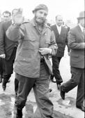 Yangiyer Fidel arrived 1963 — Foto de Stock