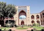 Tashkent Kukeldash Madrassah precinct 2007 — Stock Photo