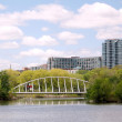 Постер, плакат: Toronto Lake Bridge in Humber Bay Park May 2008